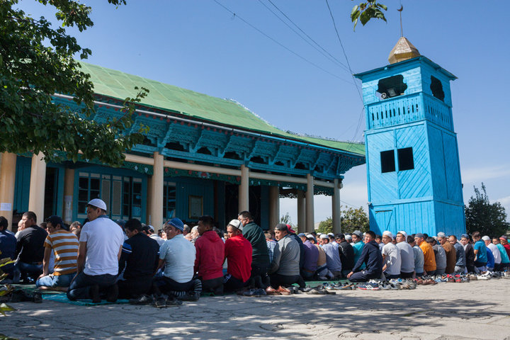 Dungan Mosque Prayers
