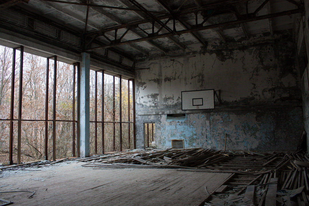 Pripyat Basketball Gym
